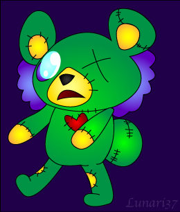 Undead bear (cub) by Lunari37