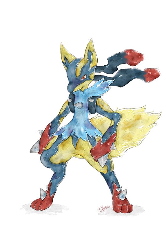 Pokemon Shiny Lucario Images | Pokemon Images