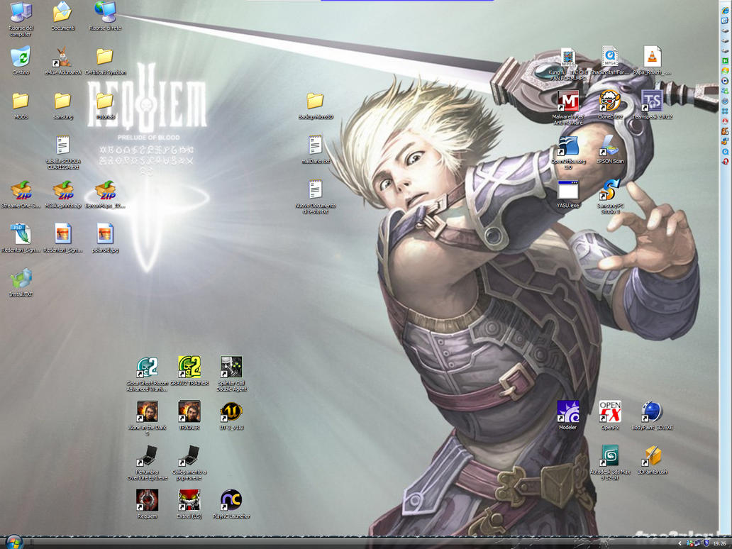 My Requiem Desktop by NinjASD