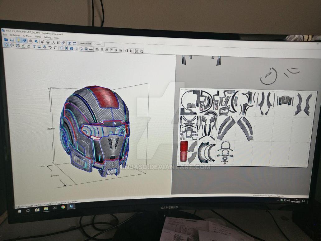 N7 helmet by NinjASD