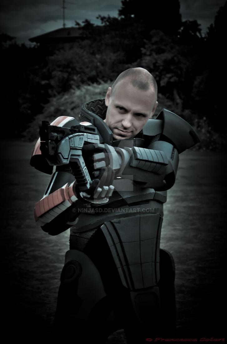 Commander Shepard by NinjASD