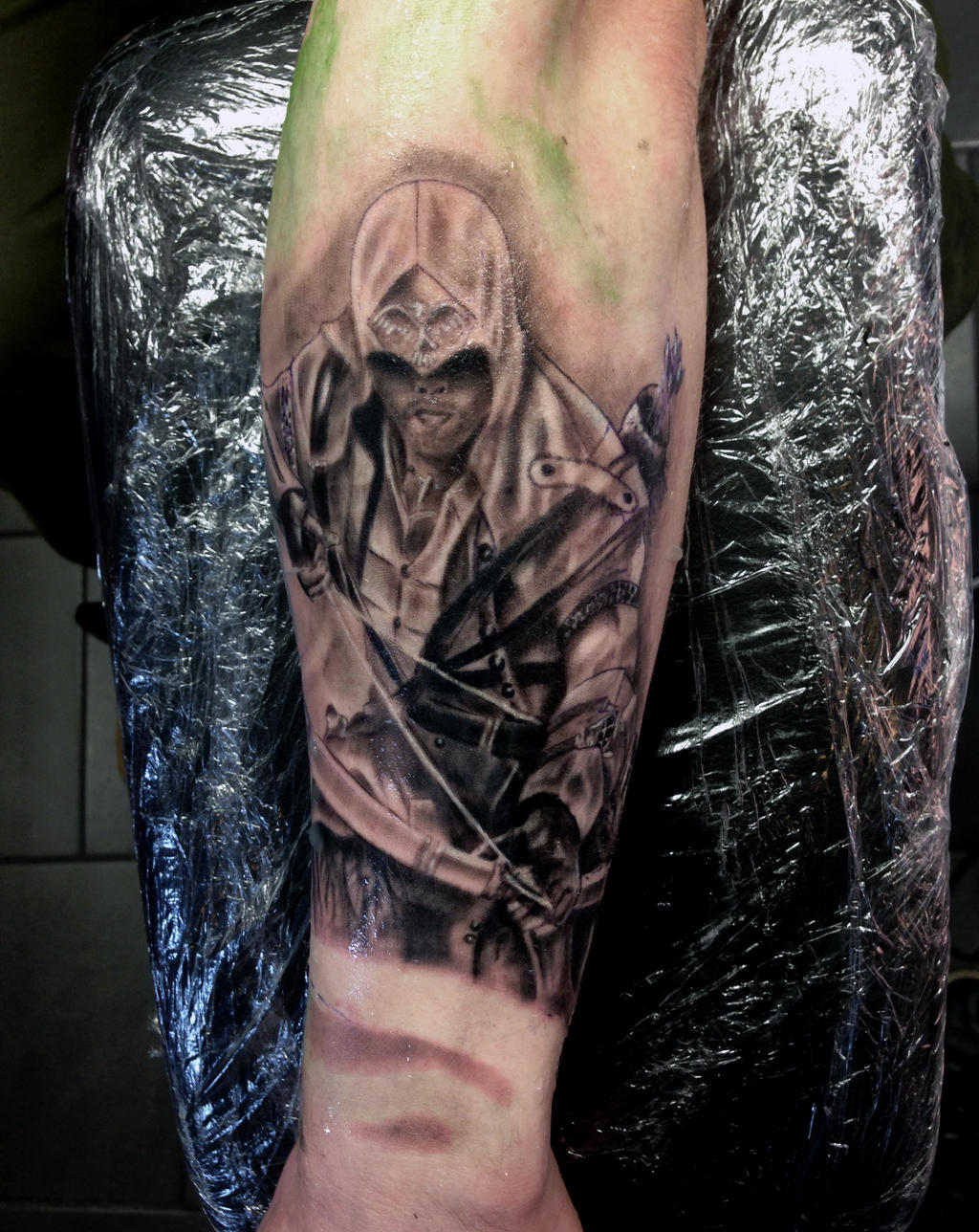 Assassins Creed Tattoos: Assassins Creed Tattoo I Did The Other Day By