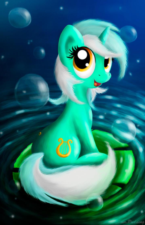 Lyra Heartstrings by mrPudding701