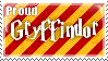 Gryffindor Stamp by Softijshamster