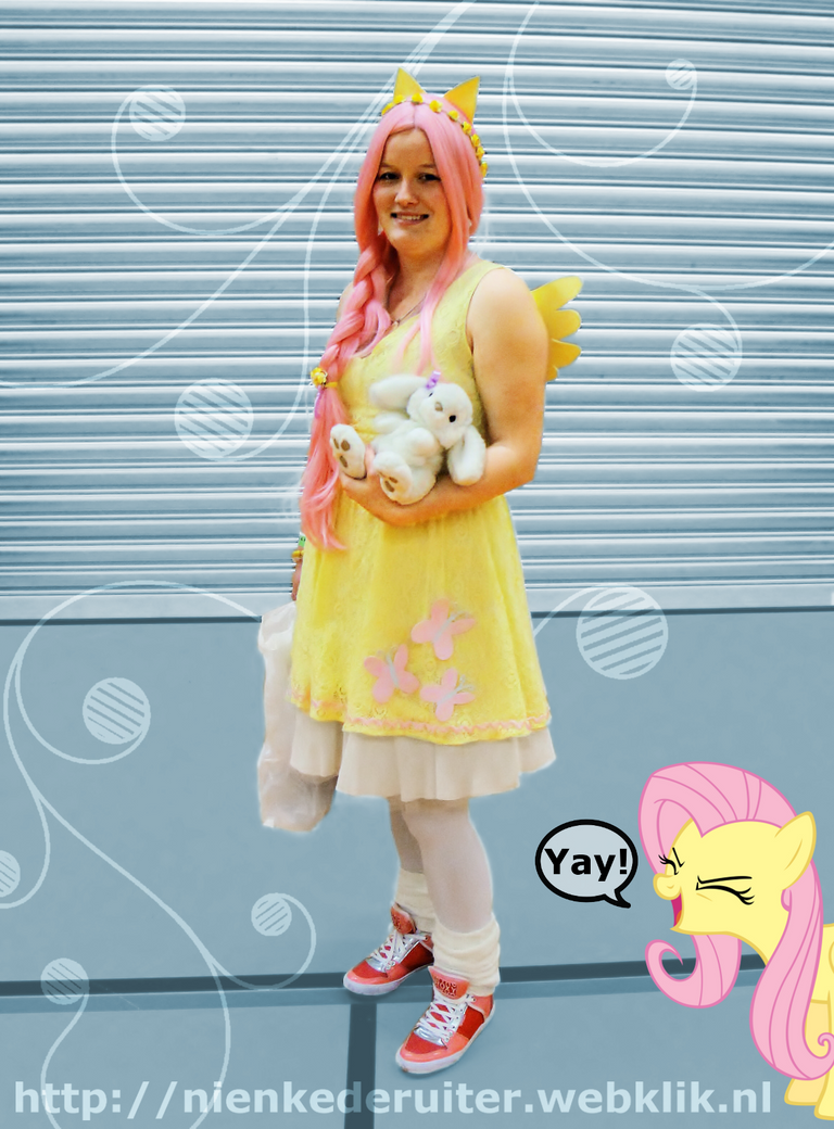 Fluttershy - MLP:FiM Cosplay [5] by Springtrap-97 on