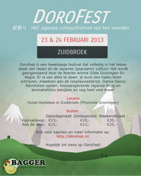 Doforfest poster by Softijshamster