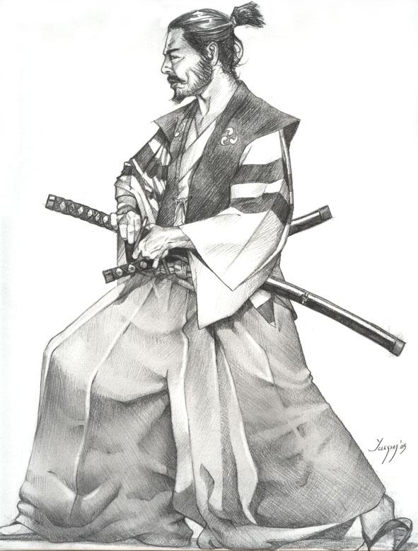 Samurai by igoryglesias