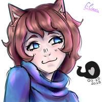 Sketch - MEOW by Elluxy