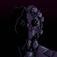 [OC Pixel Art] Portrait of The Corrupted One