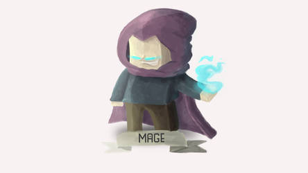 The Mage by Bubzles