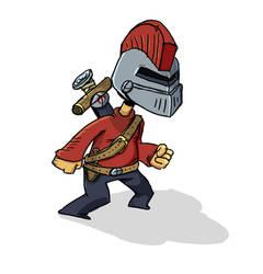 nugget knight by Bubzles