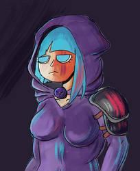 blu assassin by Bubzles