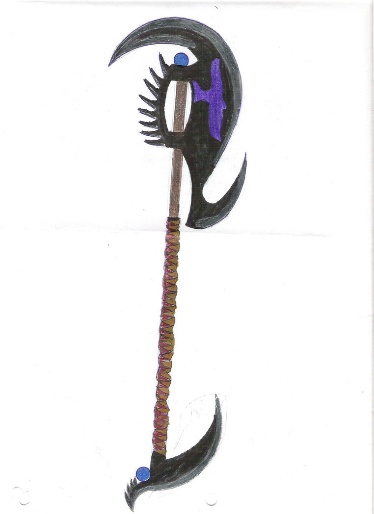 Double Bladed Scythe