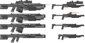 Saltworks Recoilless Battle Rifle And UBSG Kit