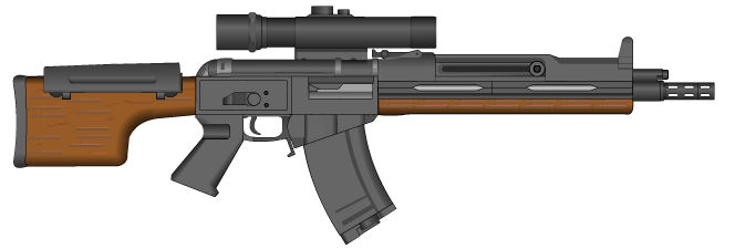 Saltworks Cold War Era Experimental Rifle