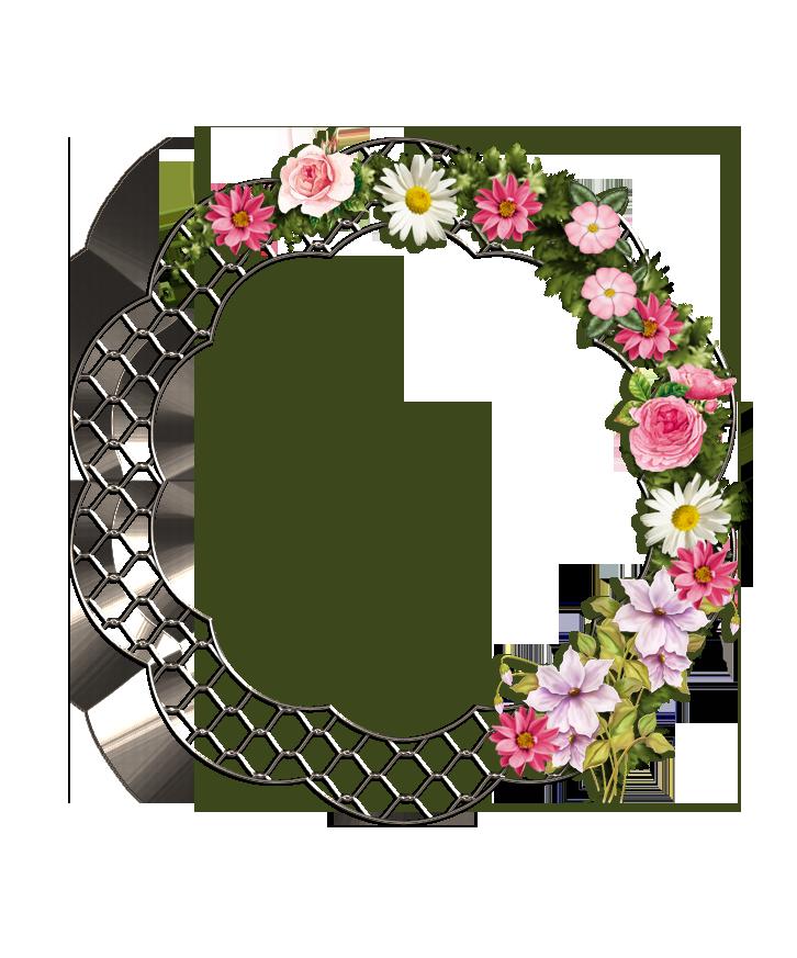 Flower Fence Frame By Jane Sigs On Deviantart