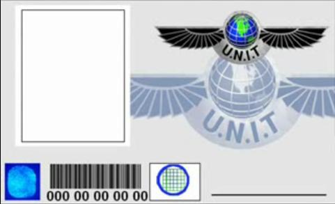 Doctor Who U.N.I.T ID Pass by MiniDoc569