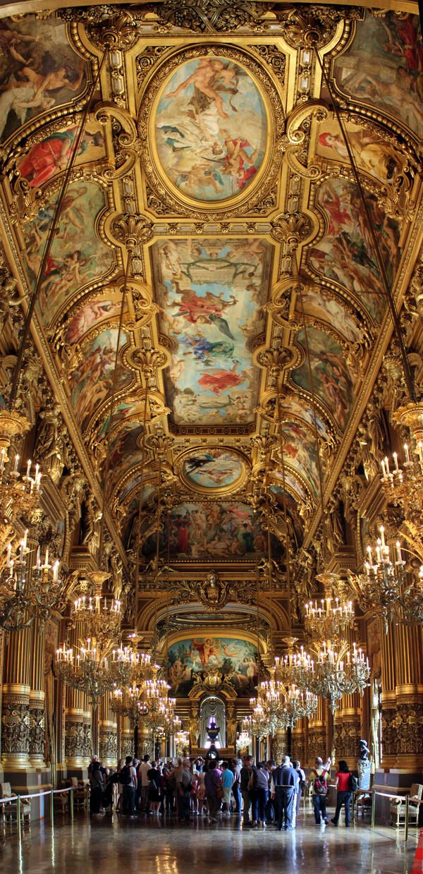Le Grand Foyer Opera Garnier : Opera garnier le grand foyer by mckopath on deviantart