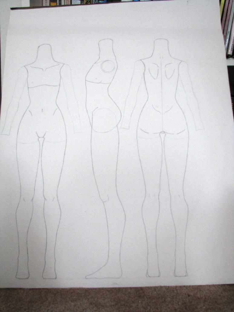 BJD Body, full-scale plans by Prysm