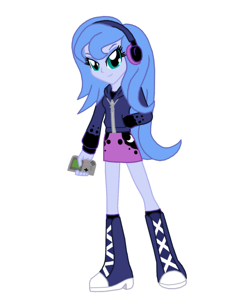 Student Princess Luna Equestria Girls by FerroKiva