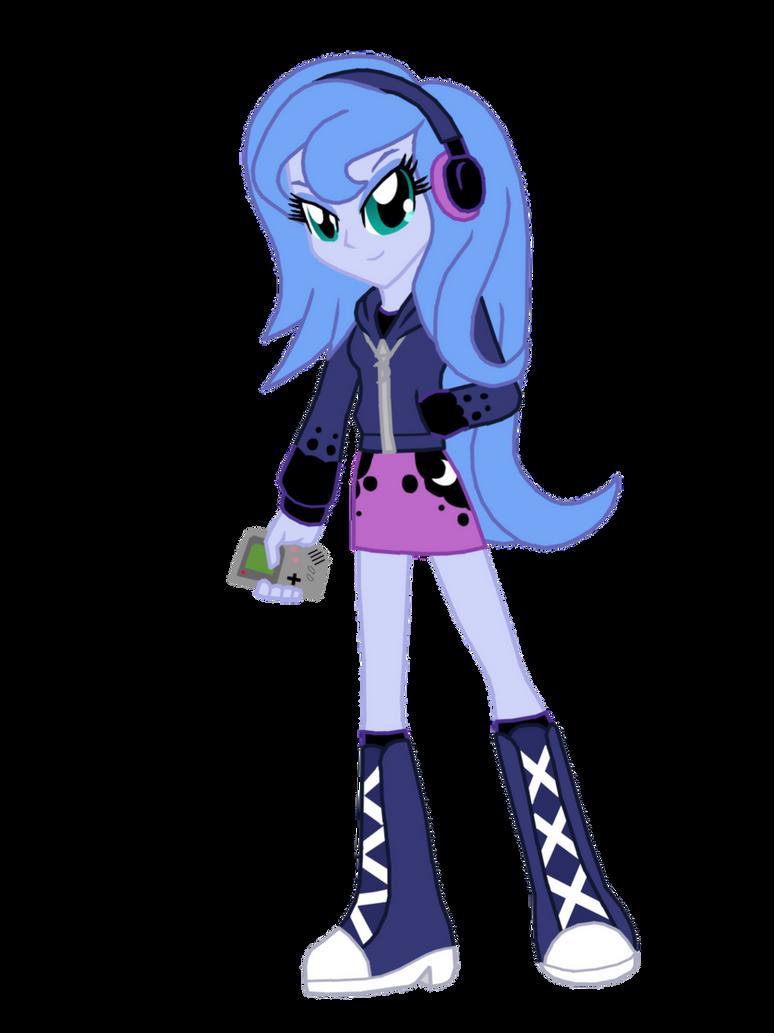 Student Princess Luna Equestria Girls by FerroKiva