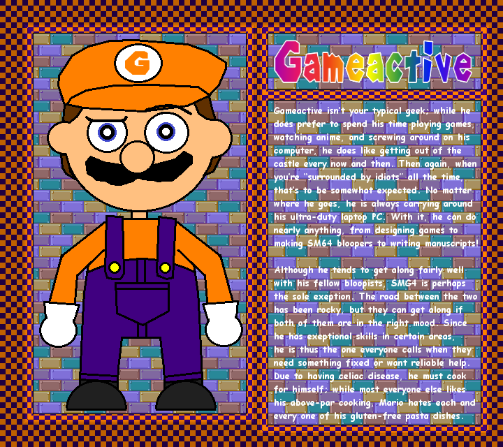 Super Mario 64 Bloopers Series 2 Charcathers Roblox Sm64 Bloopers Profile Card Gameactive By Gmaker Mario On Deviantart