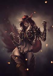Lady Sylvanas by Conquartist