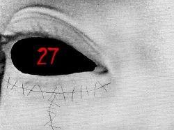 27's eye (behind her mask) by Mizuki-ShiBara