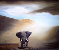 elephant by ellaengelbrecht