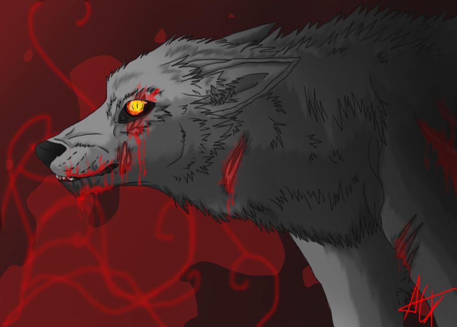 Abaddon Wolf (Final Product) by SafireCreations