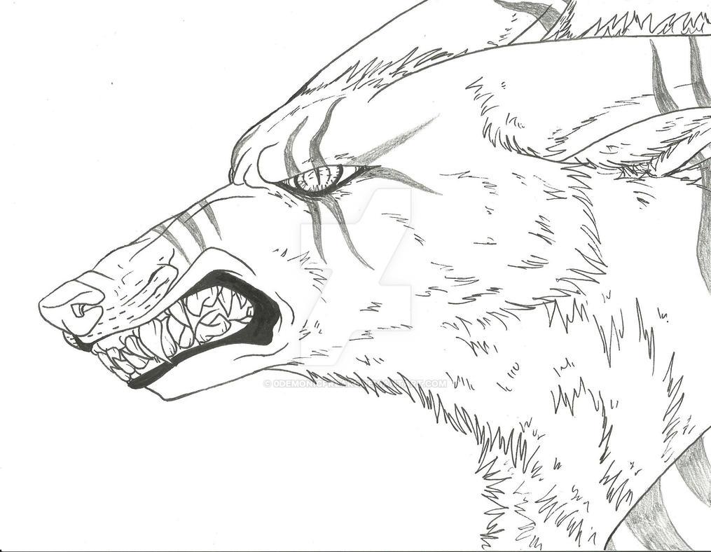 Abaddon's Markings (Pen Skel.) by SafireCreations