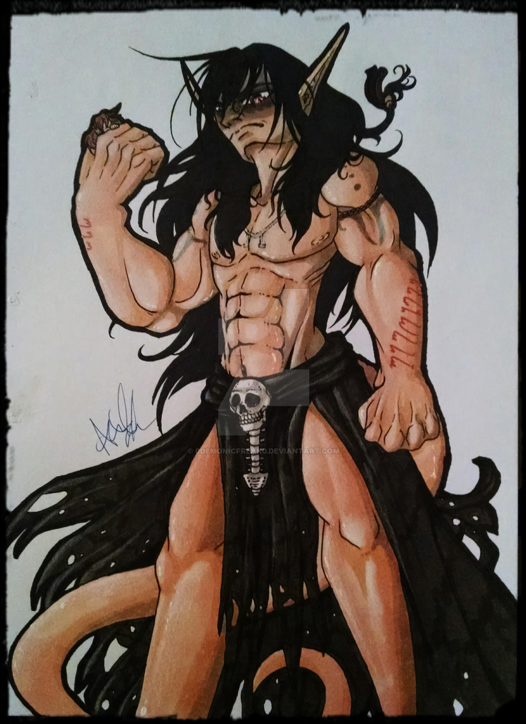 JTGS - The Black King :Ref Idea: by SafireCreations