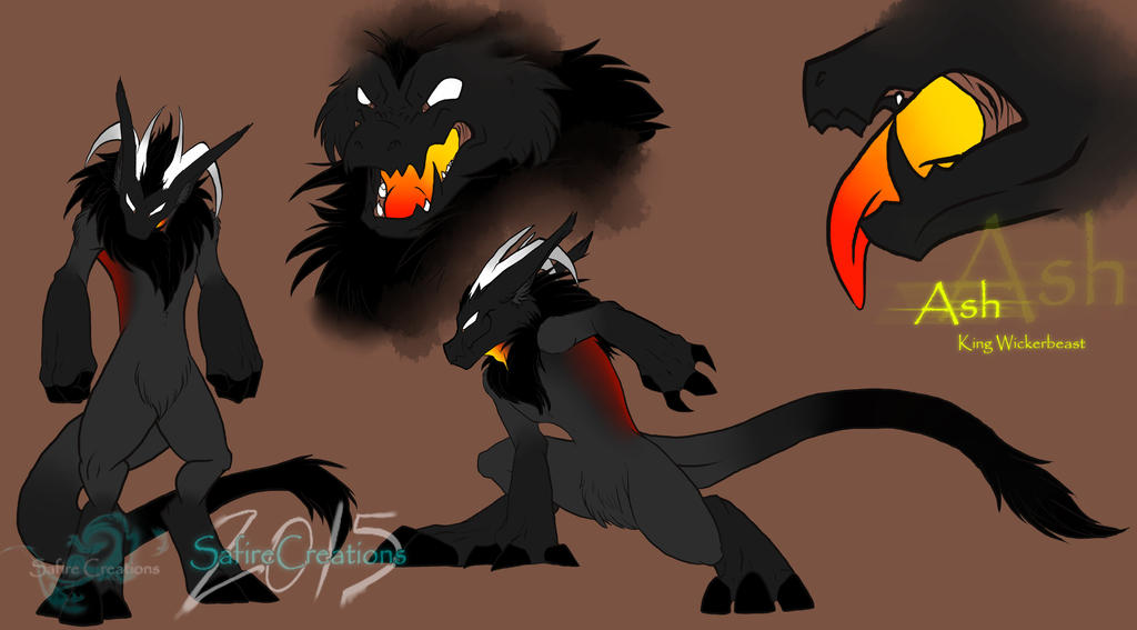 Ash the King Wickerbeast by SafireCreations