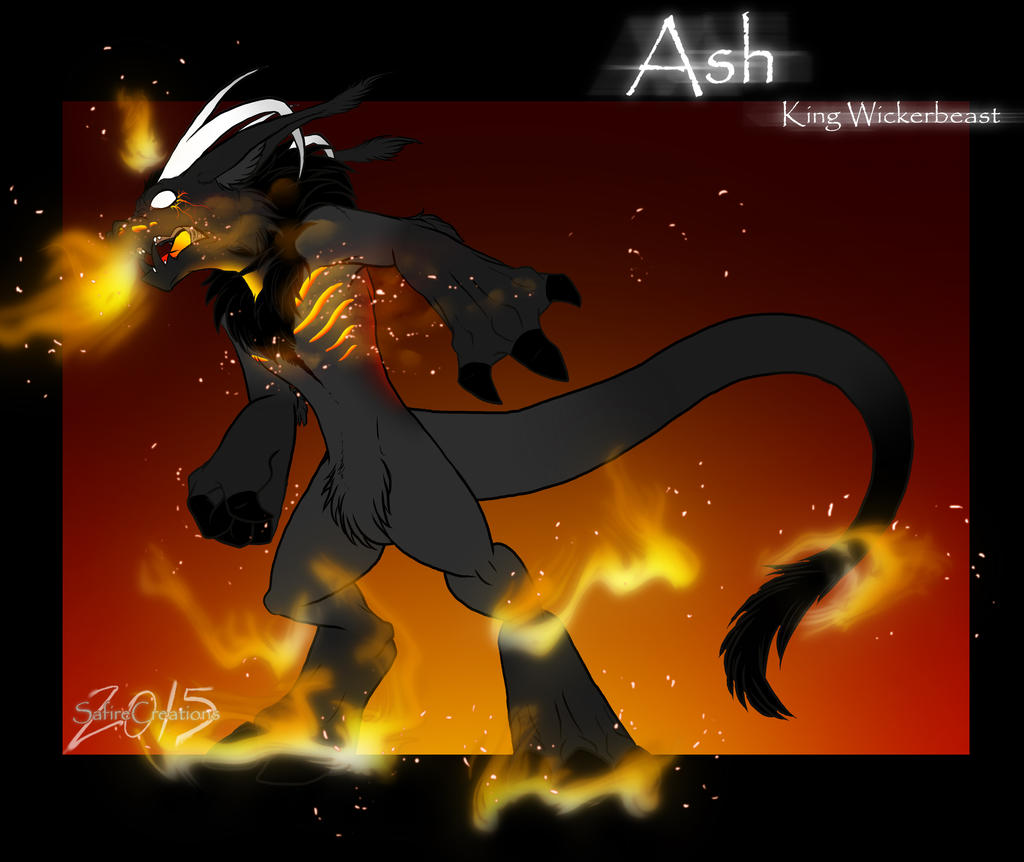 Ash the King Wickerbeast  Revised  by SafireCreations