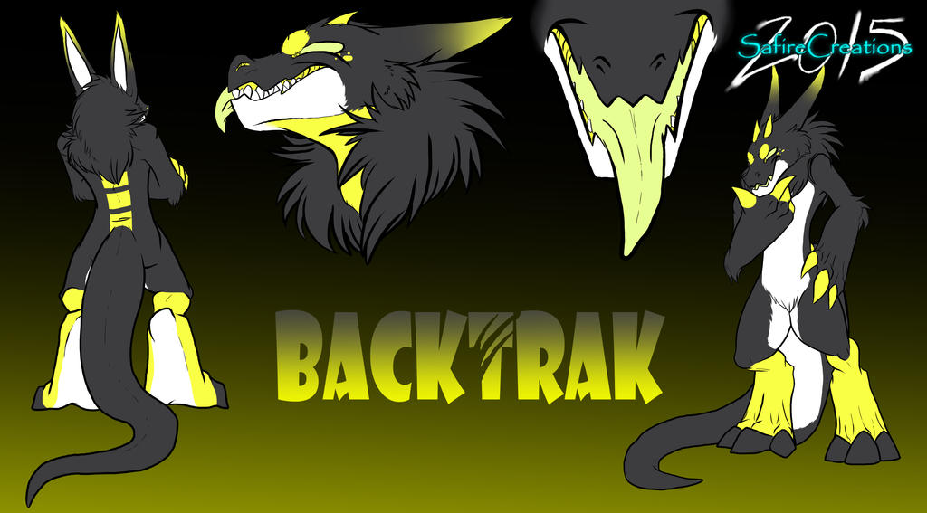 Back Trak Reference Sheet  |Commish| by SafireCreations