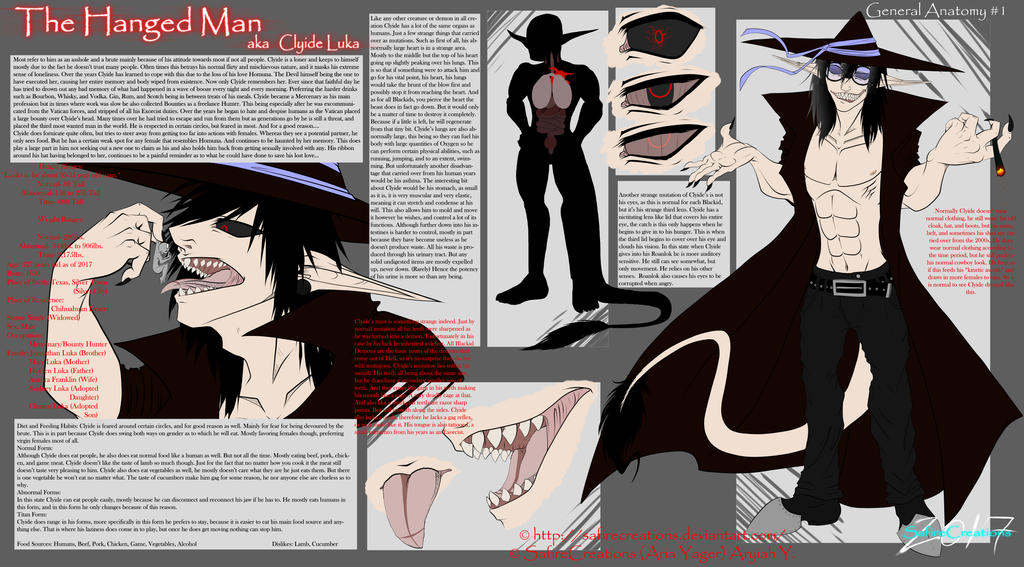 |The Hanged Man| Infograph Pg 1 :General Anatomy: by SafireCreations