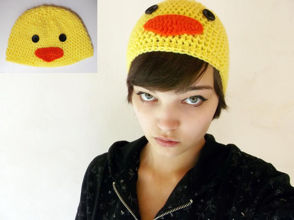 Crochet Chicken Hat By Esarina On Deviantart