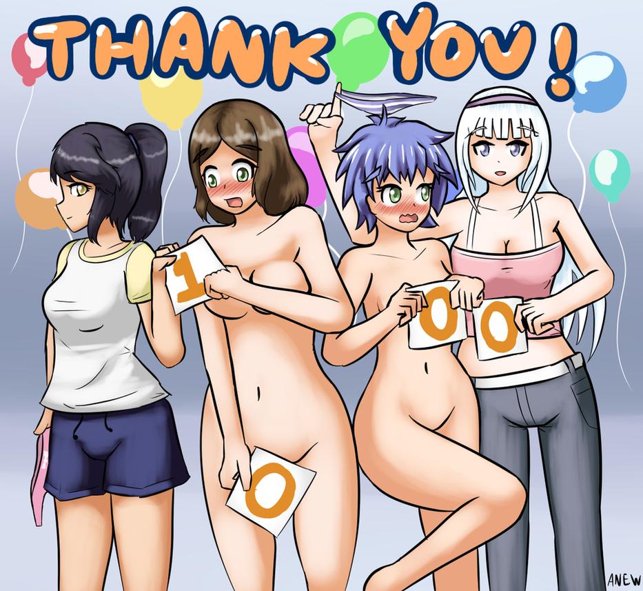 nude manga girls in pain