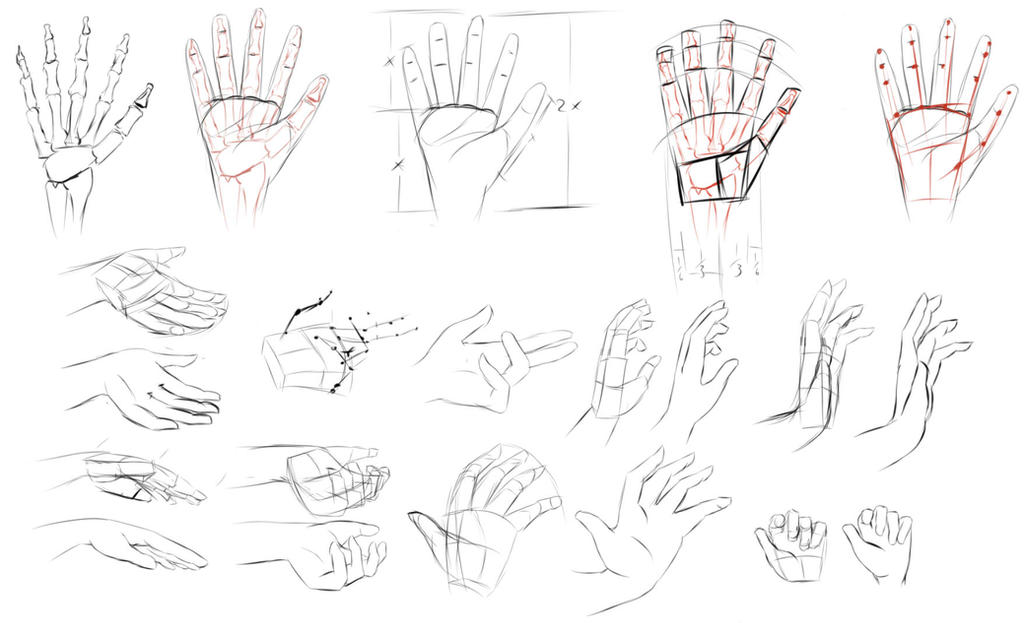 Hand Practice 3-28-17 by ANewENFArtist