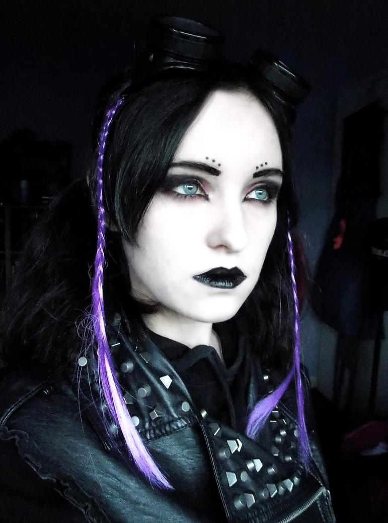 Cyber Goth Inspired 2 by RosenrotOhRosenrot on DeviantArt