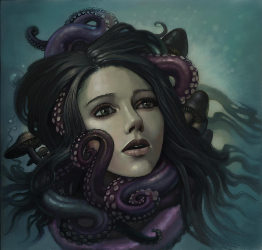 octopus garden. by N8grafica