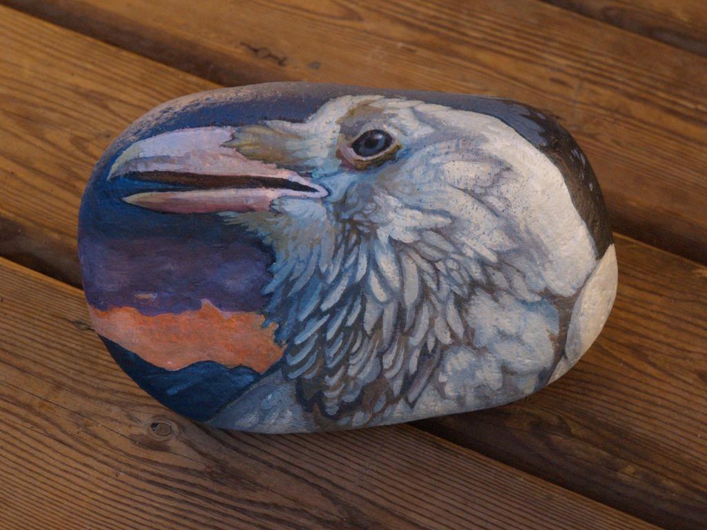 white raven by N8grafica