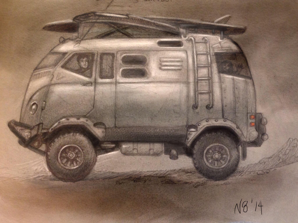 Concept VW bus by N8grafica