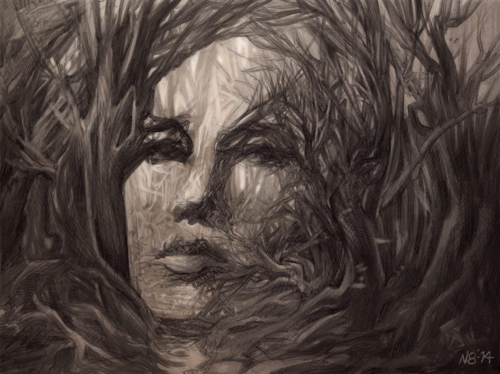 Lady Thicket by N8grafica