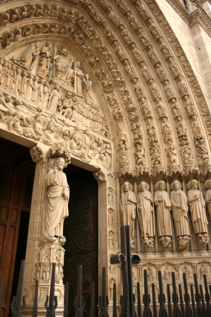 Creative commons attribution 3 0 license for Exterior notre dame