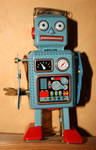 Old style toy robot