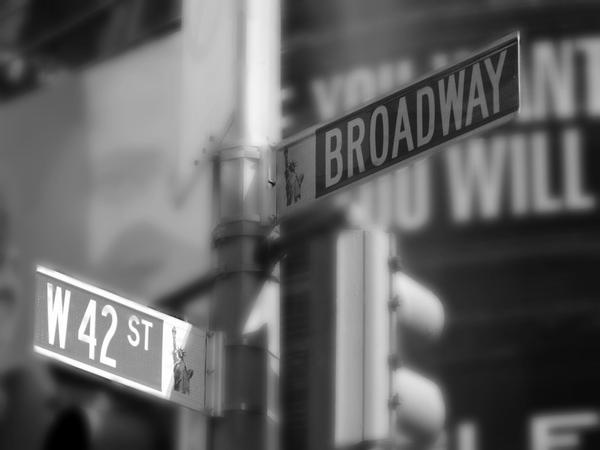 42nd and Broadway by sympatheic-darkness