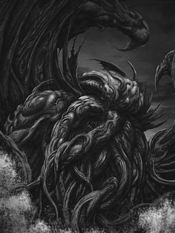 Kindle Screensaver: Cthulhu by Ighalli