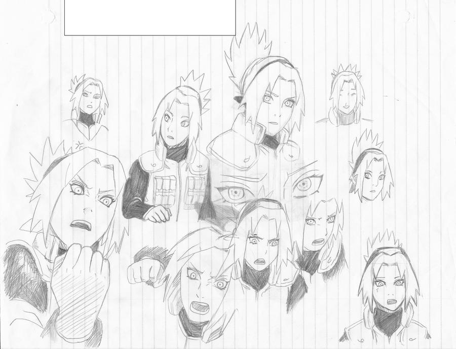 Haruno Sakura by RandomeDragon