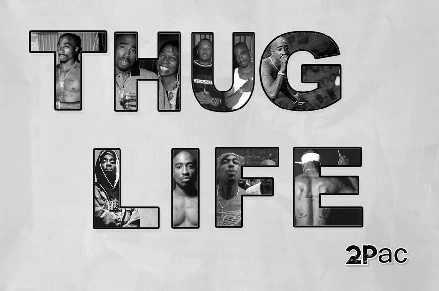 Thug Life 2 Pac By Danielboveportillo